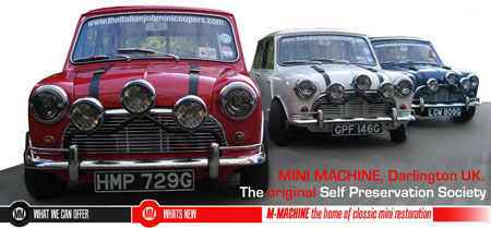 M-Machine, Classic Mini Parts